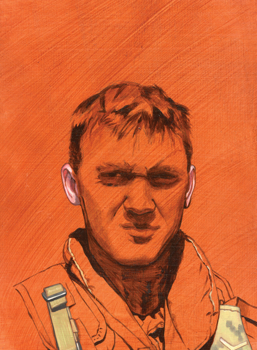 Pte. Northrup. [ILLUSTRATION: SCOTT WATERS]