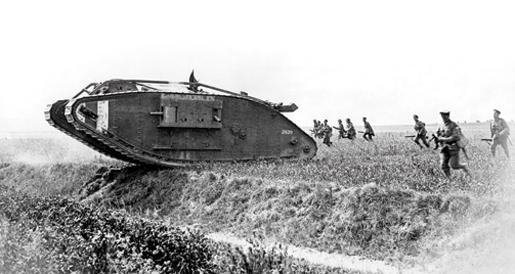 """""""15 septembre 1916""""  Les chars arrivent . SommeInset1"""