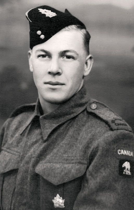Le simple soldat Jack Poolton. [PHOTO : GRACIEUSETÉ DE JAYNE POOLTON-TURVEY]